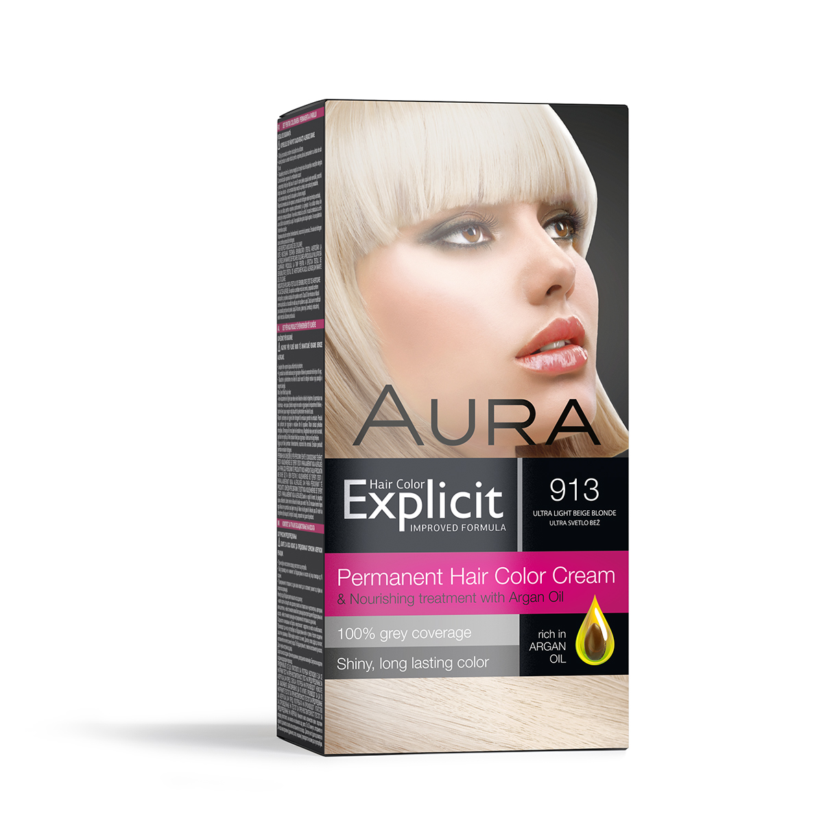 Explicit Hair Colour 913 Ultra Light Beige Fkbexpn913 Aura