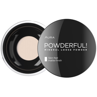 PUDER U PRAHU POWDERFUL! 02 Natural