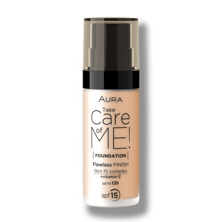 Tečni puder TAKE CARE OF ME! 801 Light Beige