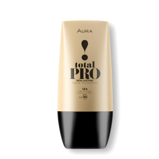 Liquid foundation high coverage effect TOTAL PRO 412 Naturel
