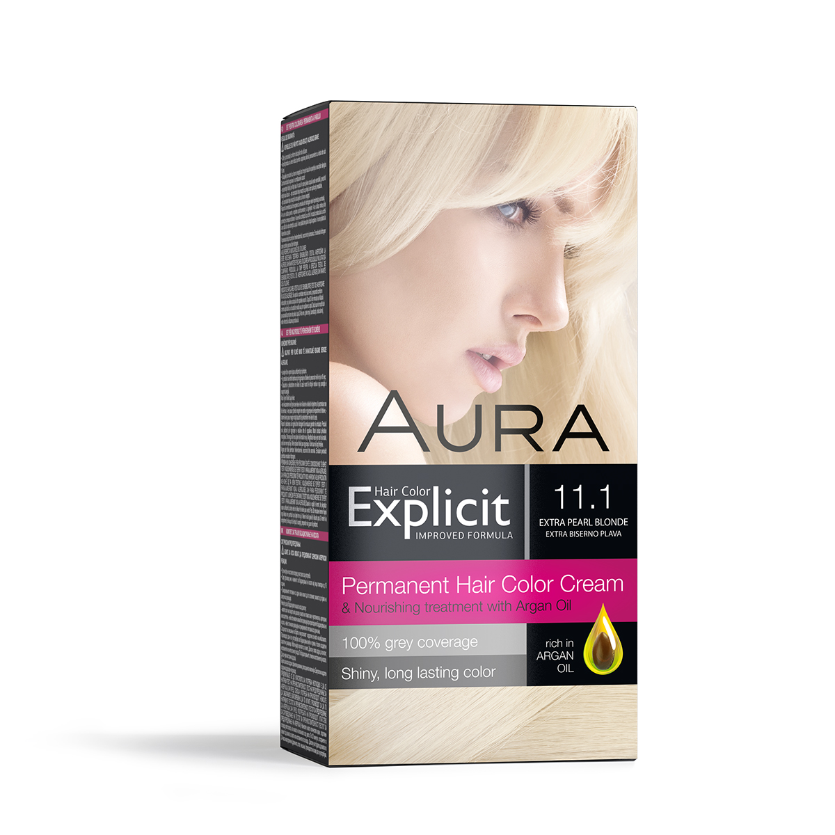 Explicit hair colour 11.1 Extra pearl blonde