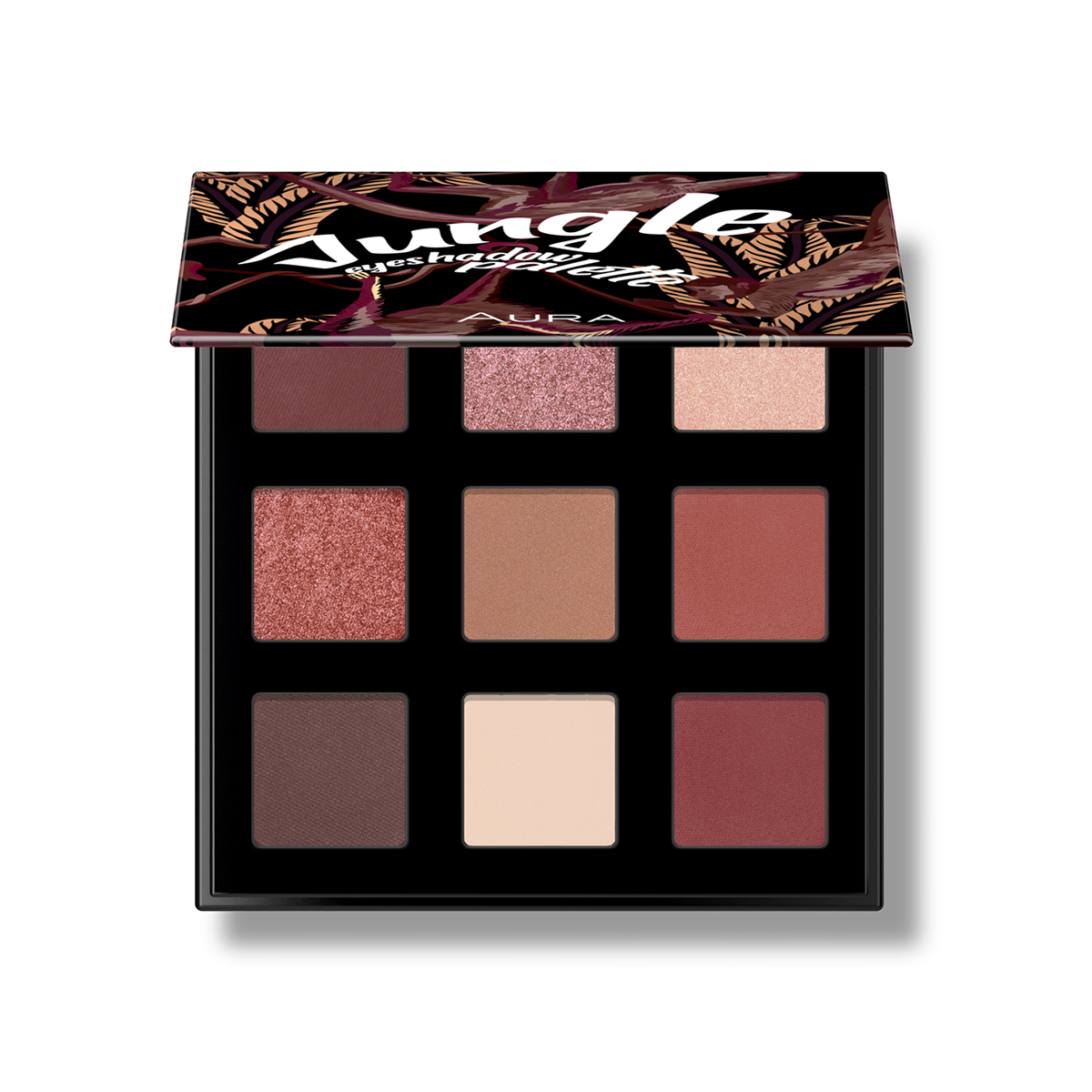 Eyeshadow palette 9/1 Jungle