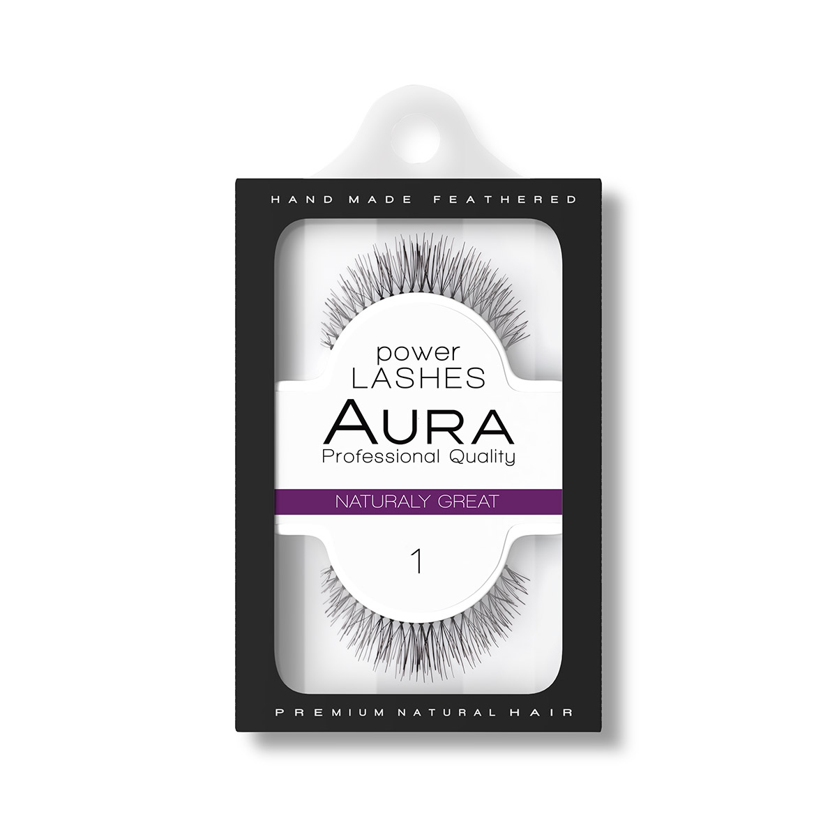 Veštačke trepavice POWER LASHES 01 Naturaly Great