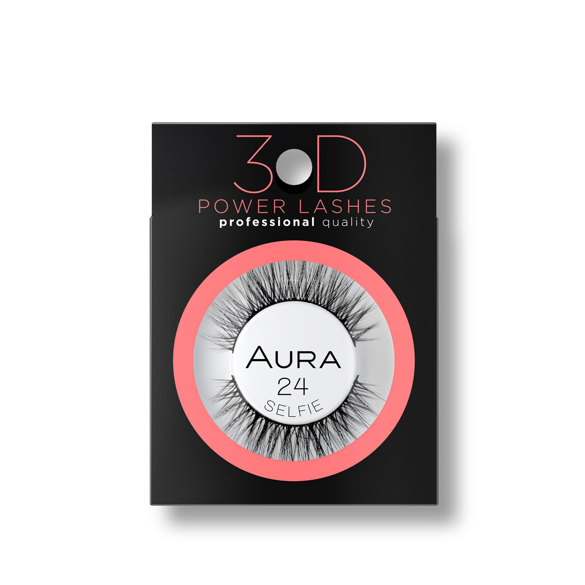 3D Veštačke trepavice 3D POWER LASHES 24 Selfie