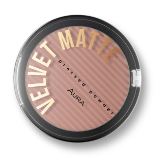 VELVET MATTE pressed powder 314 Chocolate