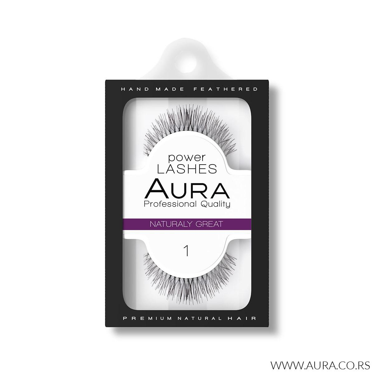 POWER LASHES 01 Naturaly Great